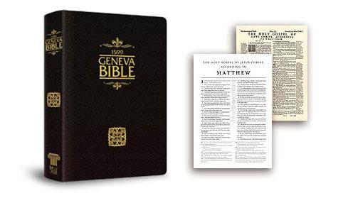 Tolle Lege Press 1599 Geneva Bible