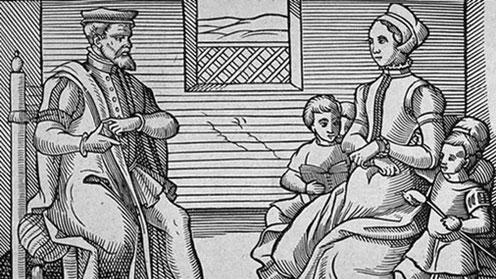 A Puritan Family (1563)